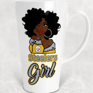 Steelers Girl 17 oz Mug