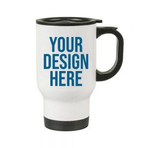 14 oz custom travel mug