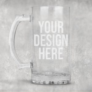 etched beer mugs personalized