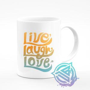 live laugh love 11oz mug