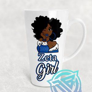 zeta girl coffee mug